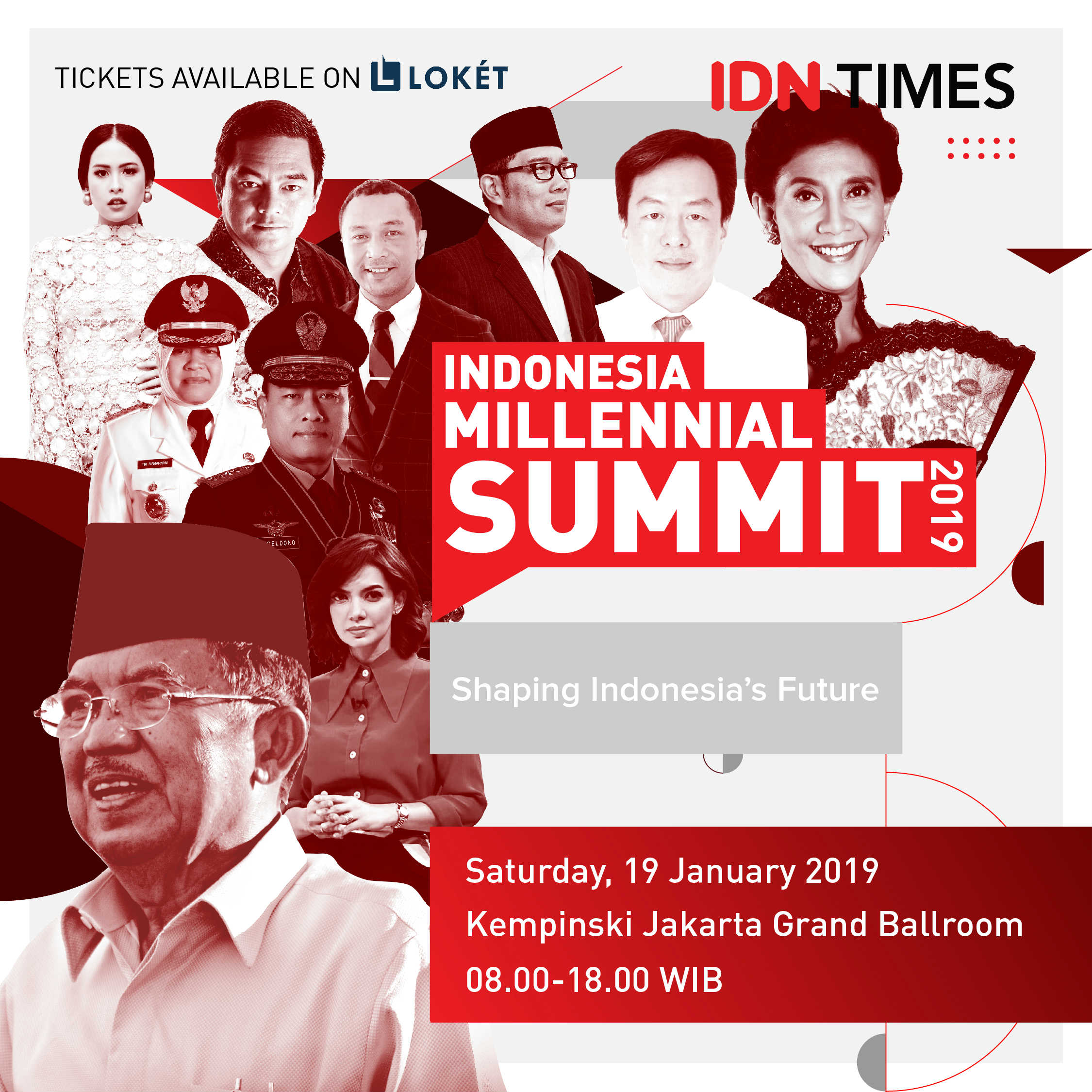 Hi Millennial! Yuk, Diskusi Bareng Pemimpin Indonesia