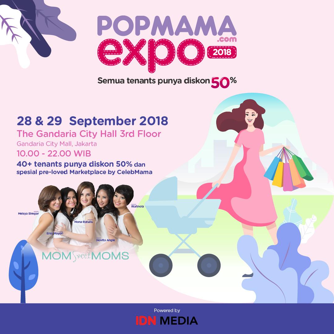 Lengkapi Kebutuhan Mama Dan Anak Di Popmama Expo