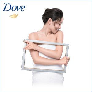 DOVE BEAUTY NOURISHING BODY WASH