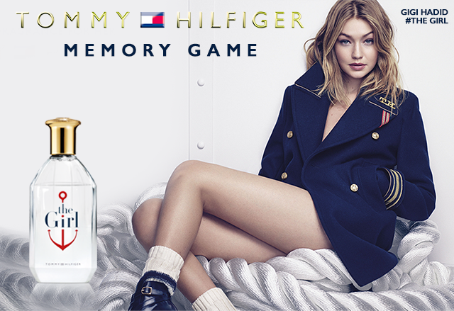 Tommy Hilfiger 'The Girl' Fragrance Memory Game
