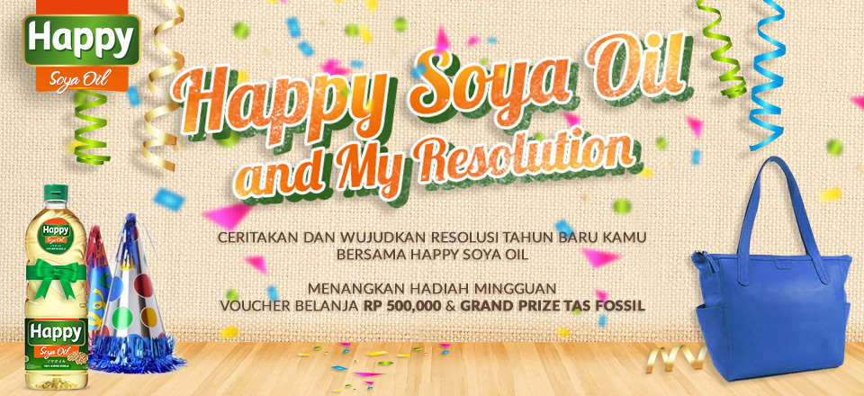Happy Soya Oil and My Resolution