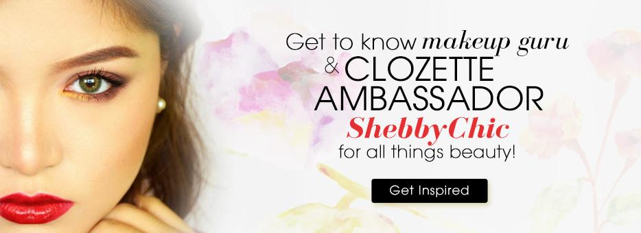Clozette, Ambassador, ShebbyChic, Makeup, Guru, Beauty, Inspire