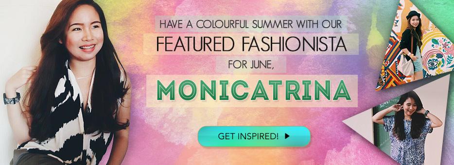 Clozette, Ambassador, Monicatrina, Featured, Fashionista, Summer, Inspired