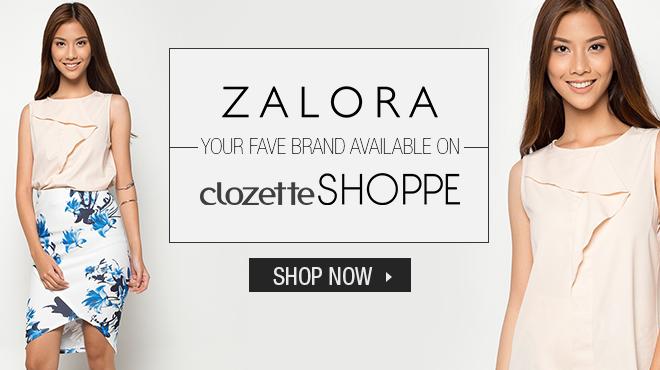 clozette, ZALORA, Shoppe, Discount, Clothes, Shoes