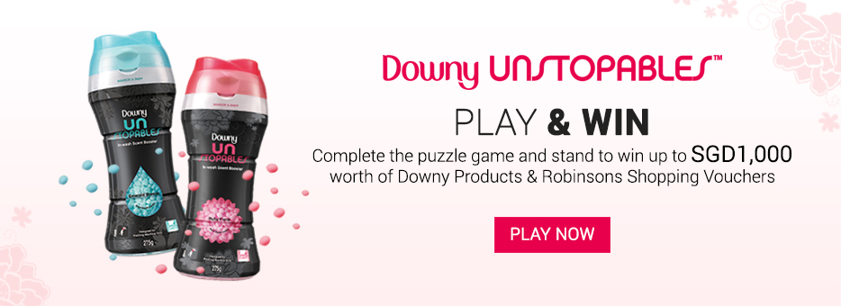 Downy, Unstopables, Ruby Floral, Emerald Breeze, Clozette, Puzzle game, Laundry