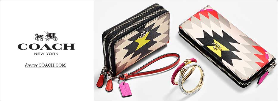 Clozette, Coach, Tribal, Collection, New