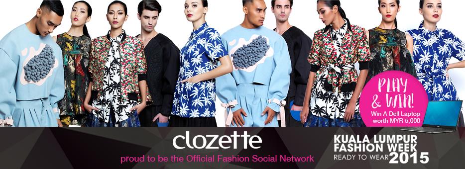 Clozette, KLFW, 2015, Play&Win, Dell, Kuala Lumpur, Fashion