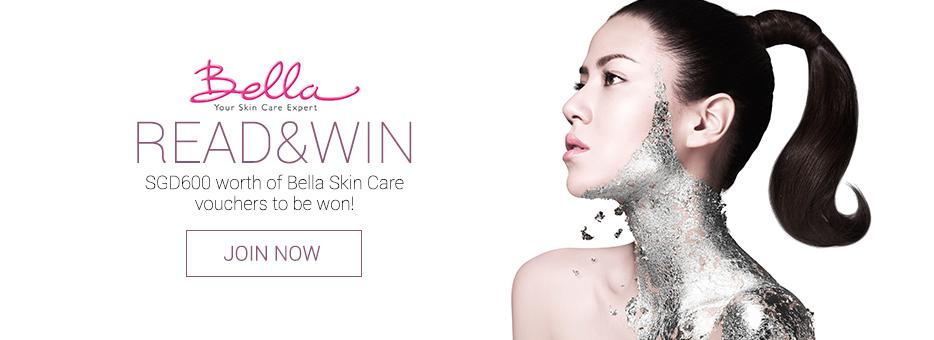 Clozette, Bella, Skin Care, Beauty, Read & Win