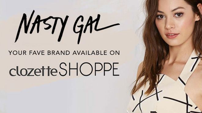 Clozette, Nasty Gal, Shoppe, New Brands