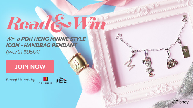 Clozette, Poh Heng, Minnie Mouse, Handbag, Pendant, Read & Win