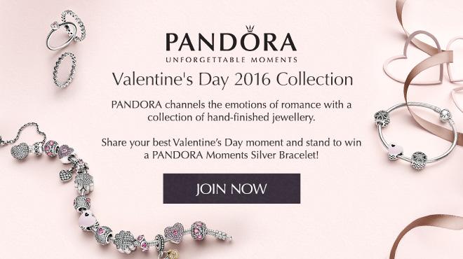 Clozette, #ValentinesMoments, PANDORA, Jewelry, charms, love, Valentine's Day