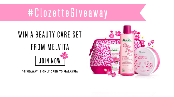 Clozette, Melvita, Giveaway, Beauty
