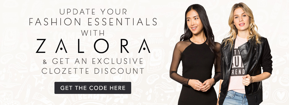 zalora, clozette, Code, sale, 20%, Fashion, Essentials, Exclusive