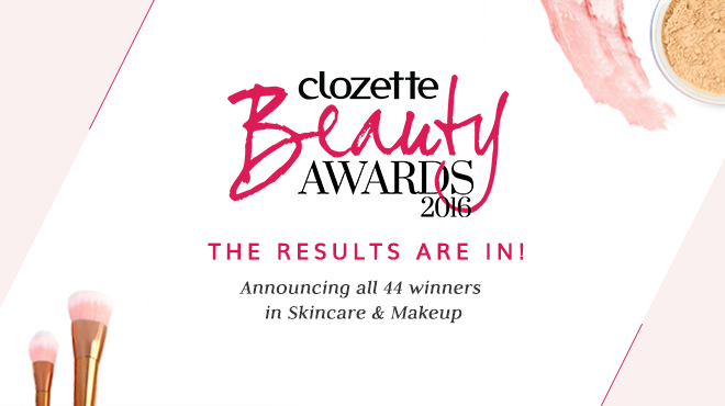 Clozette, Beauty Awards, 2016, Editor's choice, Beauty, Skincare, Winners