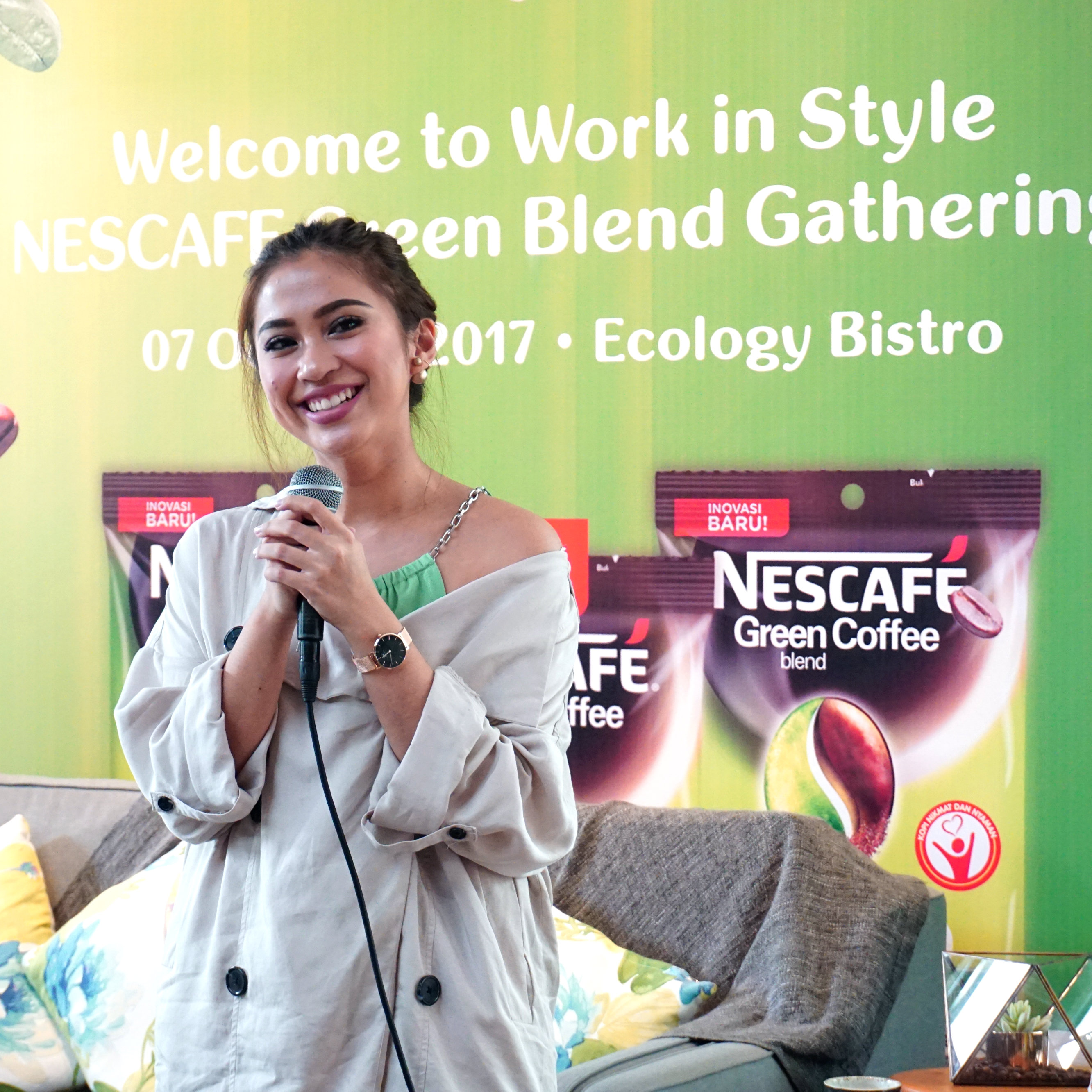Work In Style With NESCAFÉ Green Blend