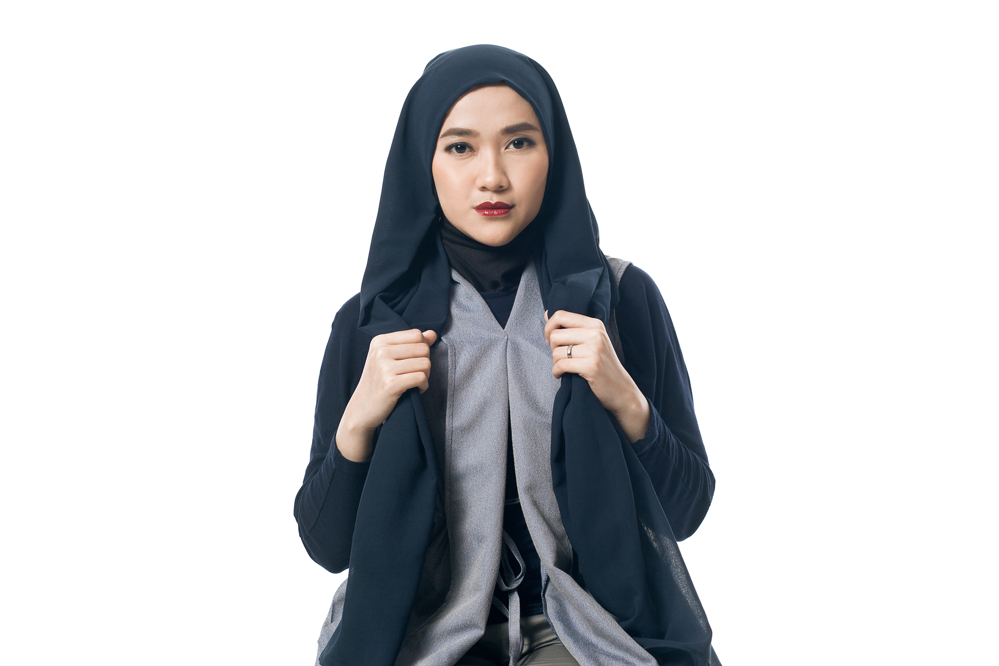 Quick And Simple Hijab Style Clozette Indonesia