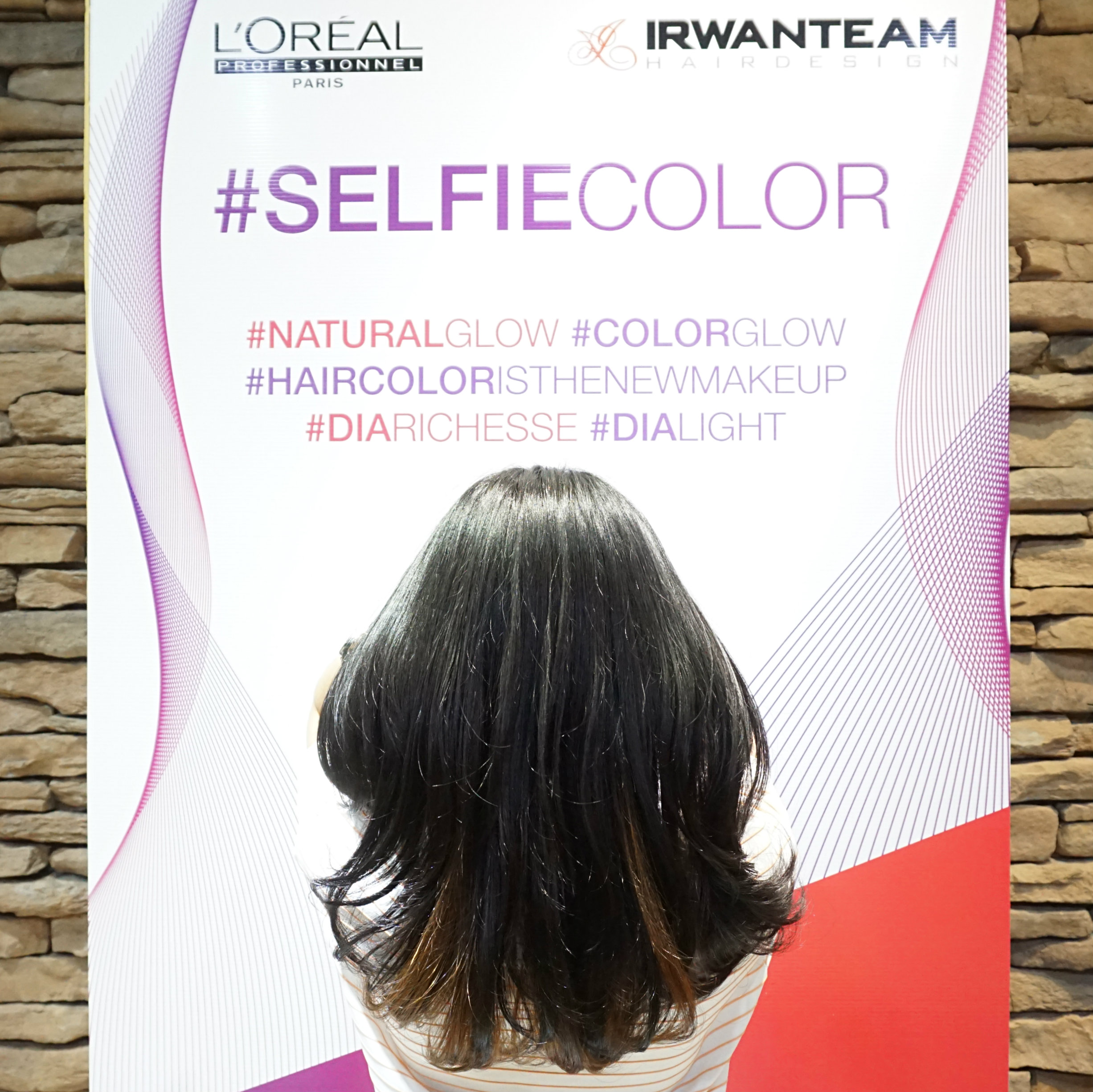 Kembalikan Kilau Rambut Dengan Selfie Color