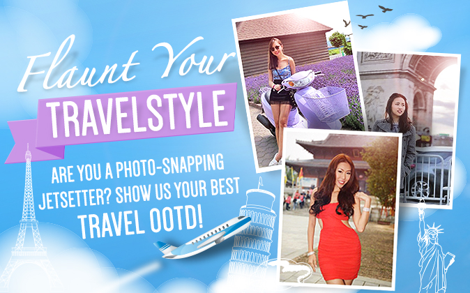 Join our OOTD Travel Style Photo Upload Contest and stand to win Ted Baker or Cath Kidston goodies!