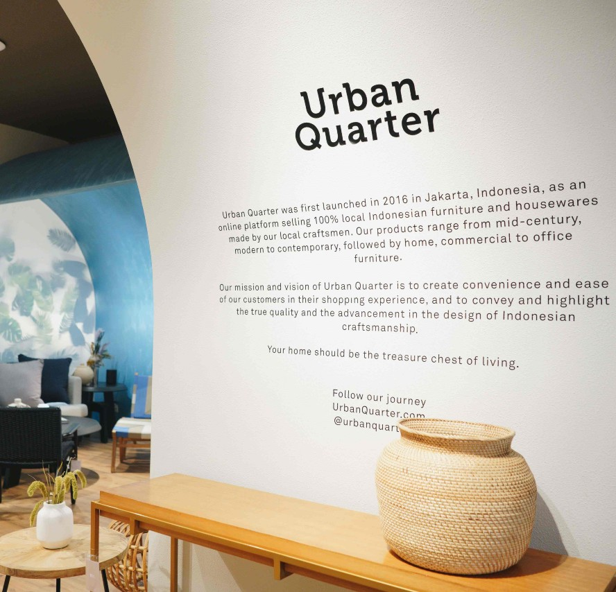 Urban Quarter Hadirkan Fitur Virtual Showroom Untuk Kemudahan Berbelanja Furnitur