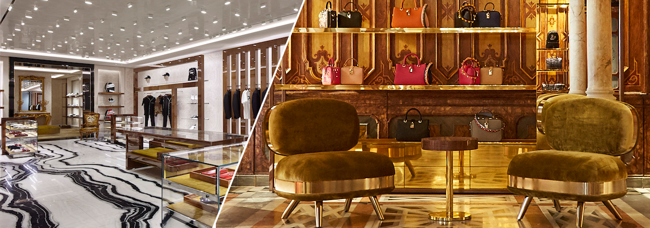 Know more about Dolce & Gabbana's unique boutiques and how their signature style blends with the local culture.