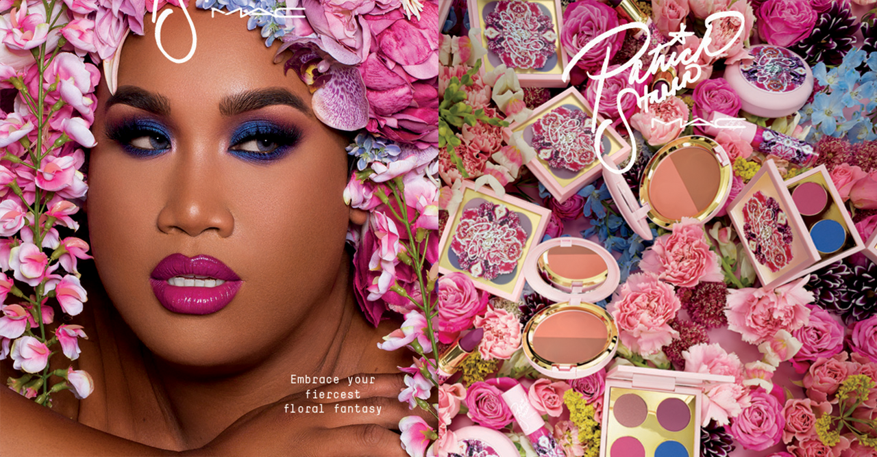 These New Beauty Products Will Be Your Summer Staples Clozette Jill Lip Matte 09 Sweet Peony Mac Cosmetics Patrick Starrr Floral Realness Collection