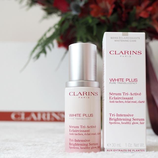 ผลการค้นหารูปภาพสำหรับ CLARINS White Plus Intensive Brightening Serum