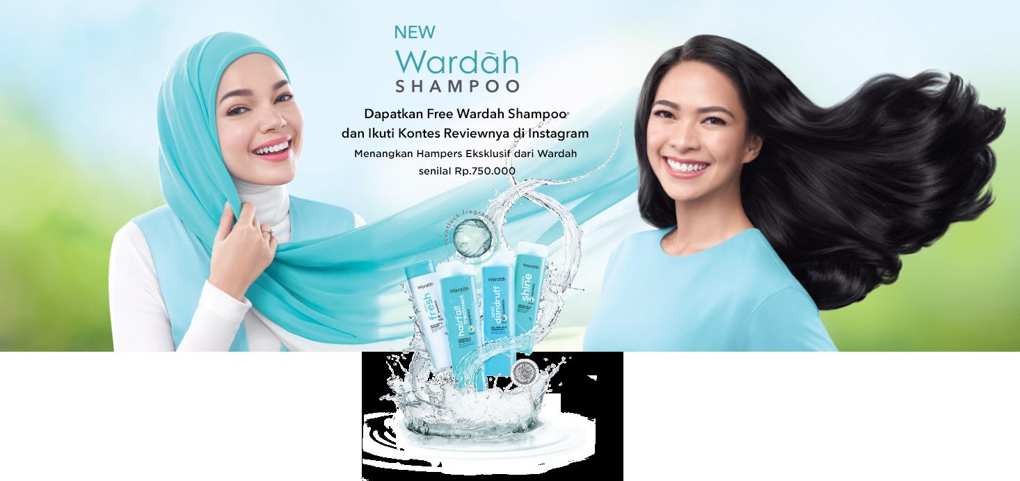 Wardah Shampoo Sampling Review Shampo Hijab Hair Innovation Mempersembahkan