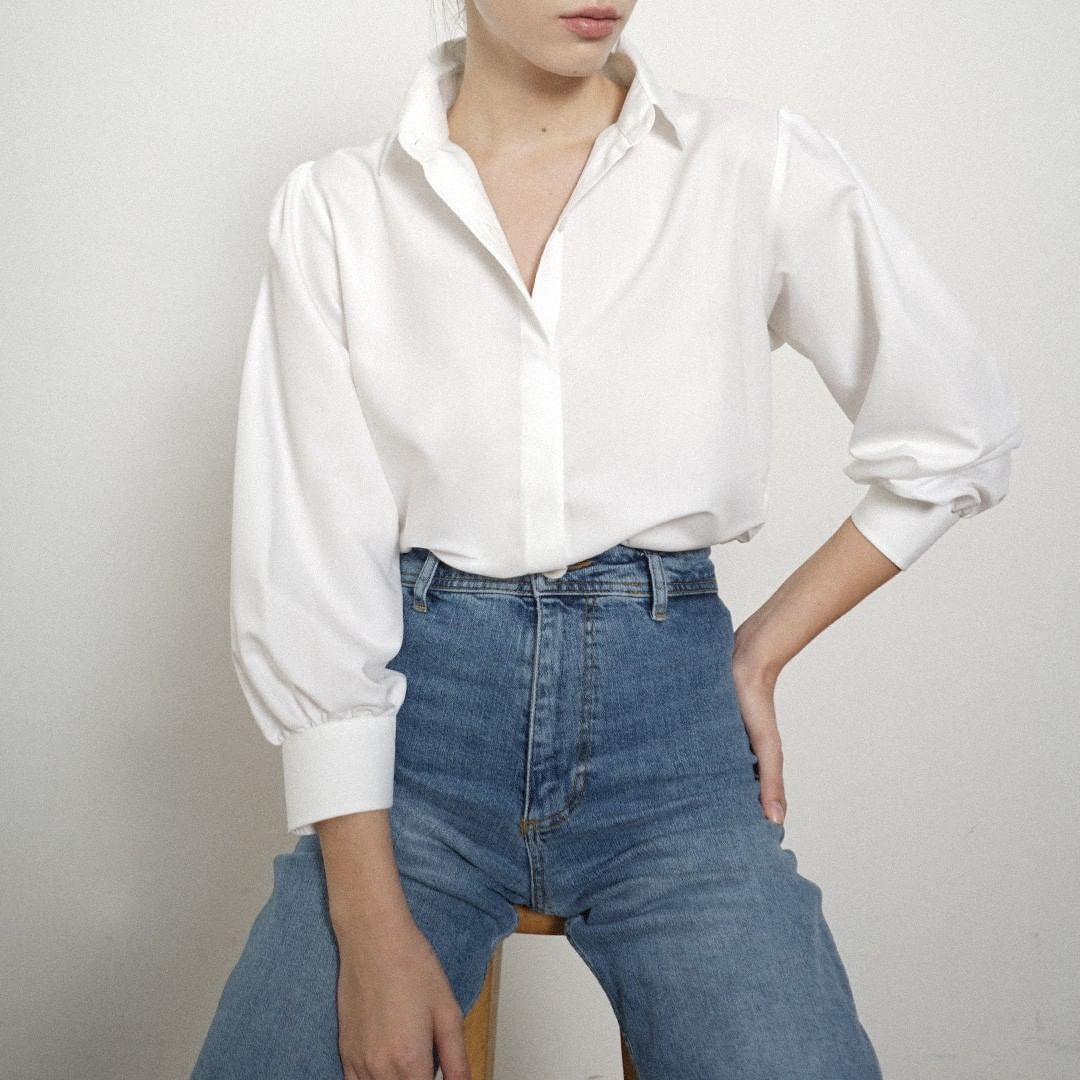 Every Woman Needs This Classic White Shirt!